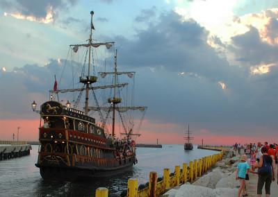 darlowko-port-statki